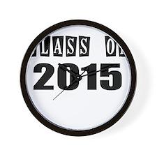 CLASS OF 2015 Wall Clock
