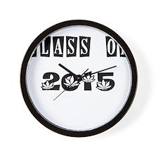CLASS OF 2015 MARIJUANA Wall Clock