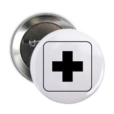 """Medical Help 2.25"""" Button (10 pack)"""