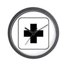 Medical Help Wall Clock