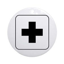 Medical Help Ornament (Round)