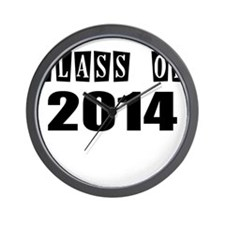 CLASS OF 2014 Wall Clock