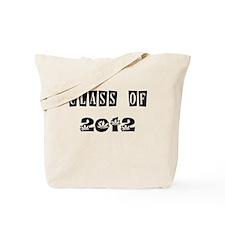 CLASS OF 2012 MARIJUANA Tote Bag