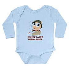 Personalized Fishing Buddy Long Sleeve Infant Body