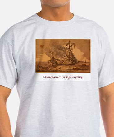 The Steamboats Are Ruining Everything T-Shirt