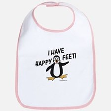Happy Feet Penguin Bib