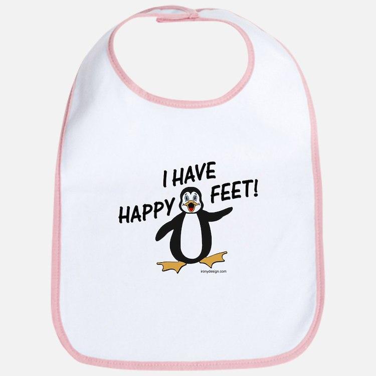 Happy Feet Penguin Bib