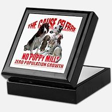 NO PUPPY MILLS Keepsake Box