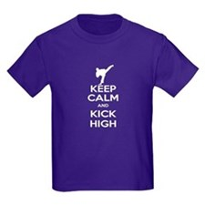Keep Calm Kick High Guy T