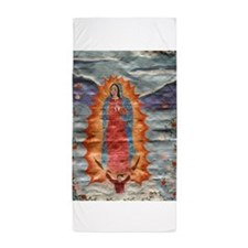 Our Lady of Guadalupe (Papyrus Ver.) Beach Towel