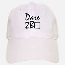 Dare to be square! Baseball Baseball Cap