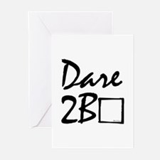 Dare to be square! Greeting Cards (Pk of 10)