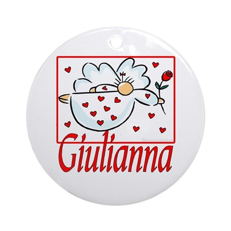 Giulianna Ornament (Round)