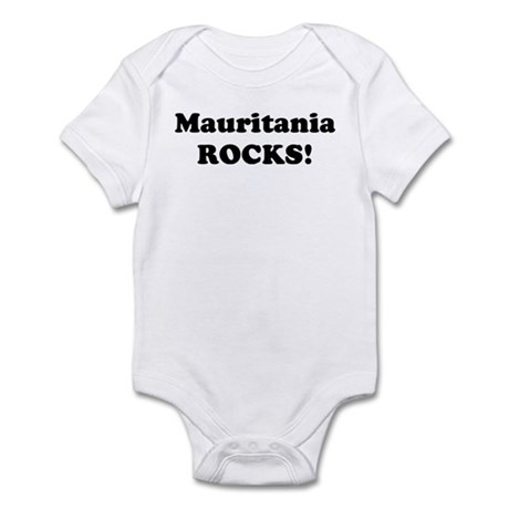 Mauritania Rocks! Infant Bodysuit