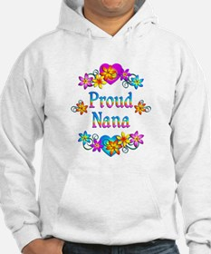 Proud Nana Flowers Jumper Hoody
