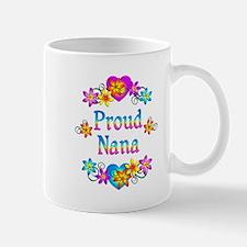 Proud Nana Flowers Mug