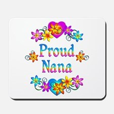 Proud Nana Flowers Mousepad