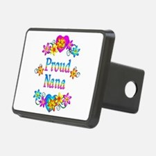 Proud Nana Flowers Hitch Cover
