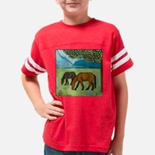 horsestile1 Youth Football Shirt