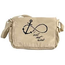 Infinity Anchor - refuse to sink Messenger Bag