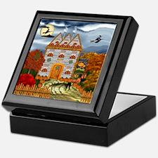 Samhain Cottage Keepsake Box