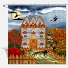 Samhain Cottage Shower Curtain