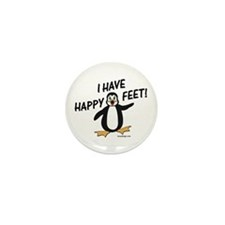 Happy Feet Penguin Mini Button (10 pack)