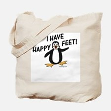 Happy Feet Penguin Tote Bag