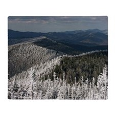 Great Smoky Mountain National Park Throw Blanket