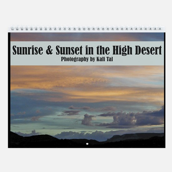 Sunrise & Sunset Wall Calendar
