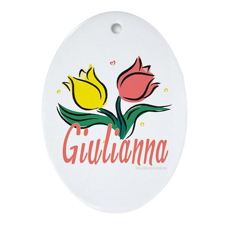 Giulianna Oval Ornament