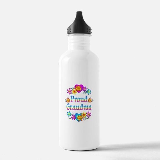 Proud Grandma Water Bottle