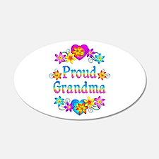 Proud Grandma Decal Wall Sticker