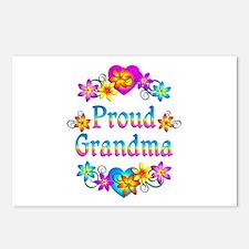 Proud Grandma Postcards (Package of 8)