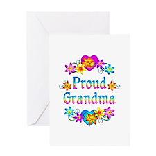 Proud Grandma Greeting Card