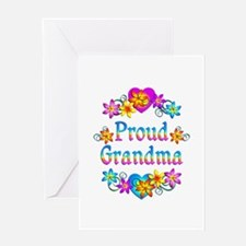 Proud Grandma Greeting Card