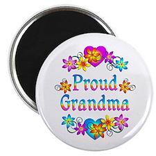 """Proud Grandma 2.25"""" Magnet (100 pack)"""