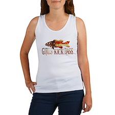 GIRLS KICK BASS Tank Top