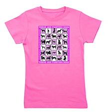 All Dogs Stadium Blanket 2.eps Girl's Tee