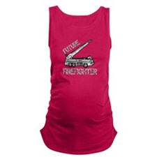 FUTURE-FIREFIGHTER.png Maternity Tank Top