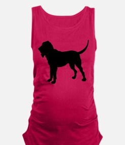 Bloodhound.eps Maternity Tank Top