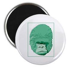 Green Gorilla Magnet
