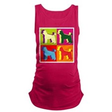 POODLE.png Maternity Tank Top