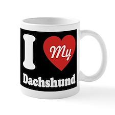 I Heart My Dachshund Mug