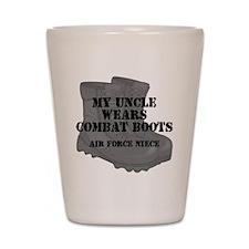 AF Niece Uncle CB Shot Glass