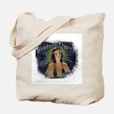 Western Queen Tote Bag