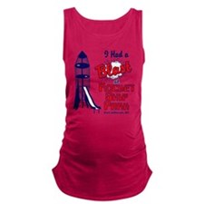 final rocket ship park.eps Maternity Tank Top