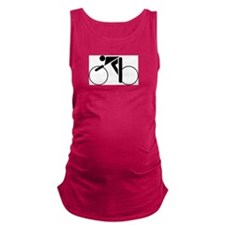 cycling.eps Maternity Tank Top