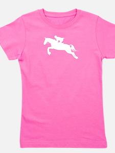HorseJumper.eps Girl's Tee