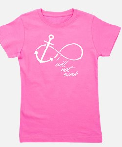 Infinity Anchor - refuse to sink Girl's Tee